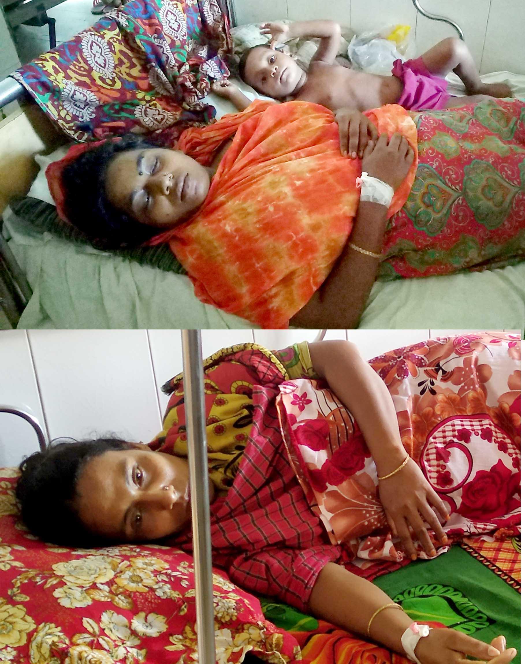 শরণখোলায় সন্ত্রাসী হামলায় তিন নারী গুরুতর আহত