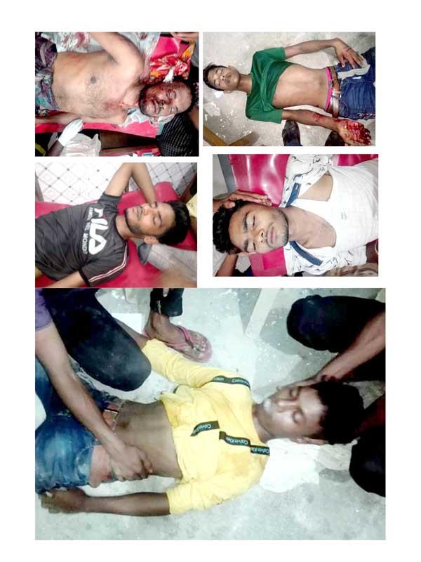 পরাজিত প্রার্থীর সন্ত্রাসীদের হামলায় বিজয়ী প্রাথীর ১০জন আহত ॥ সঙ্কটজনক ৬জনকে বরিশালে স্থানান্তর